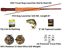 Trout Bug Launcher Rod & Reel Kit